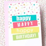 Free Printable Birthday Cards | Skip To My Lou   Free Printable Birthday Cards