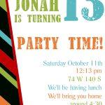 Free Printable Birthday Invitation Templates | Printables | Free   13Th Birthday Party Invitations Printable Free