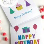 Free Printable Blank Birthday Cards   Catch My Party   Free Printable Birthday Cards For Adults