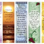 Free Printable Bookmarks With Bible Verses | Bookmarks | Printable   Free Printable Bookmarks With Bible Verses