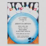 Free Printable Bowling Party Invitation Templates   Making The Web   Free Printable Bowling Invitation Templates