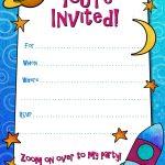 Free Printable Boys Birthday Party Invitations | Birthday Party   Free Printable Toddler Birthday Invitations