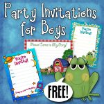 Free Printable Boys Birthday Party Invitations | Party Printables   Free Printable Boy Birthday Invitations