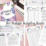 Free Printable Budgeting Binder: 15+ Pages!   Free Printable Budget Binder