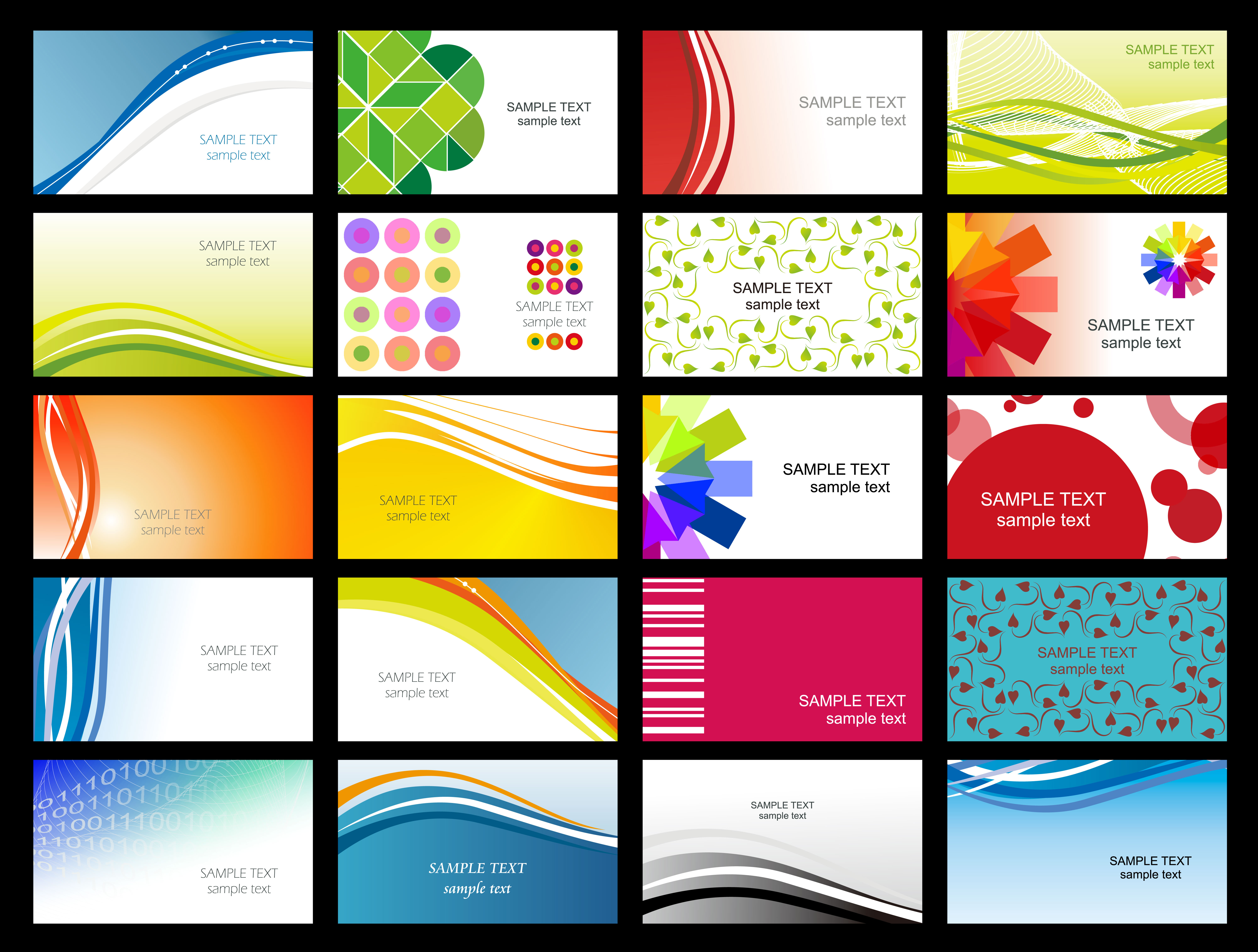 Free Printable Business Card Templates Sample | Get Sniffer - Free Printable Business Card Templates