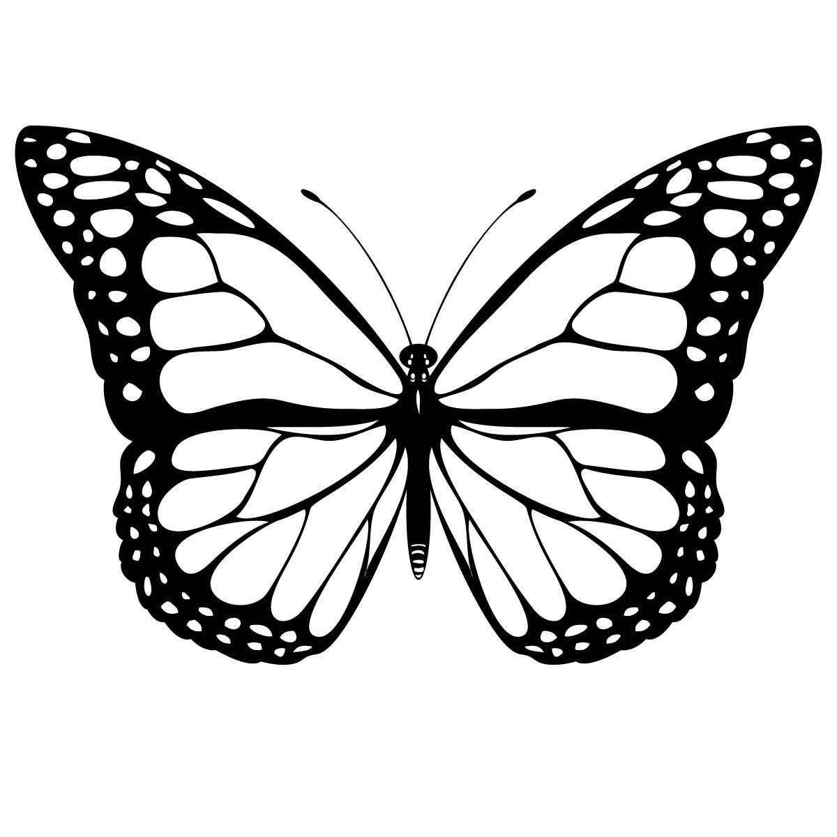 Free Printable Butterfly Coloring Pages For Kids | Butterfly - Free Printable Butterfly Coloring Pages