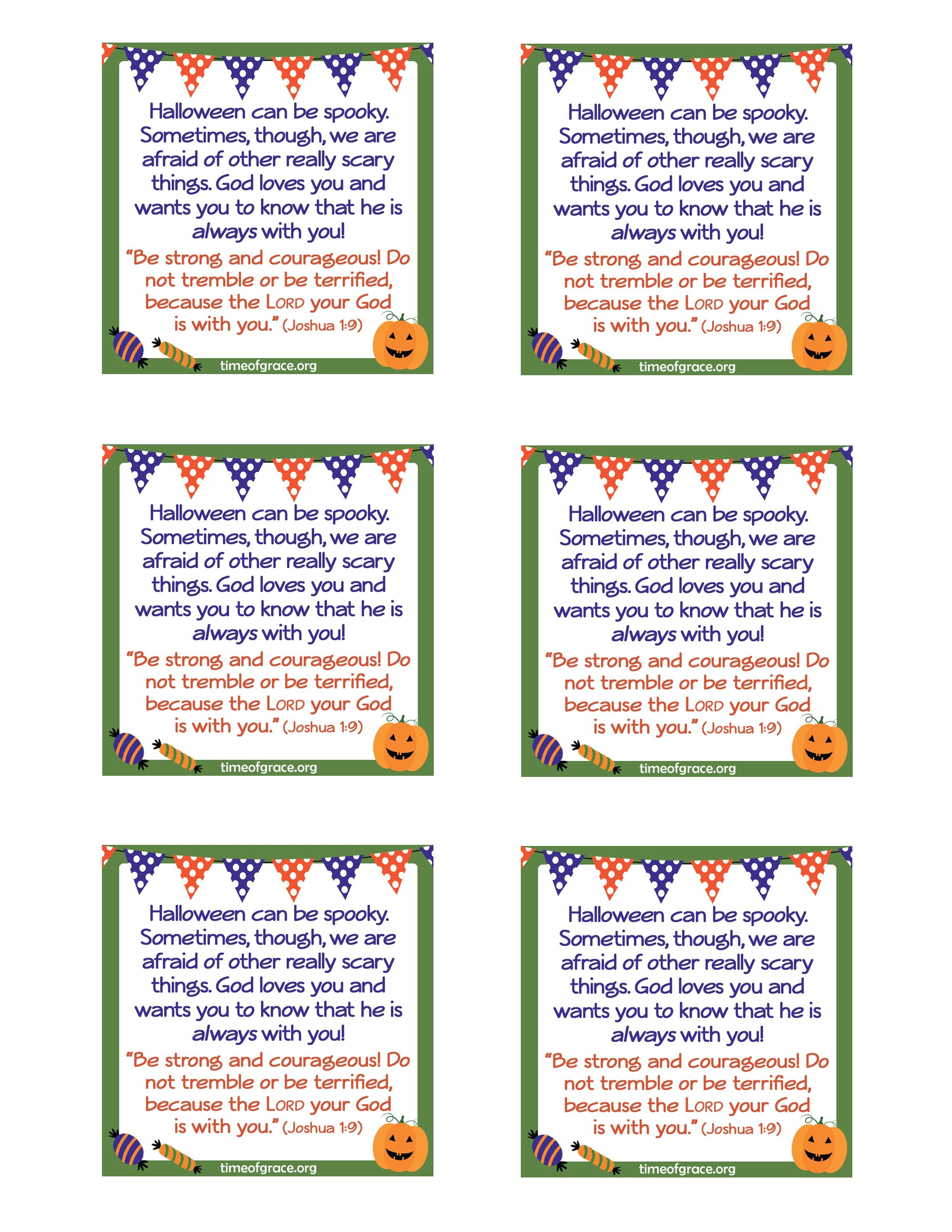 Free #printable Cards With A Message And Scripture To Hand Out With - Free Printable Gospel Tracts For Children