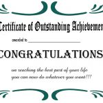 Free Printable Certificates And Awards To Include In Your Gift Basket   Free Printable Blank Certificates Of Achievement