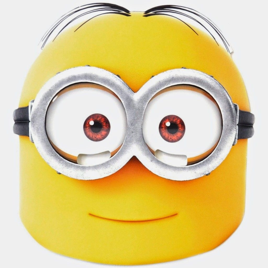 Free Printable Character Face Masks | Minion Party | Minion - Free Printable Face Masks