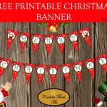 Free Printable Christmas Banner | Kreatívságok   Free Printable Christmas Banner