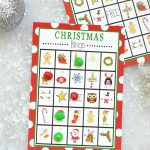 Free Printable Christmas Bingo Game – Fun Squared   Free Printable Christmas Bingo