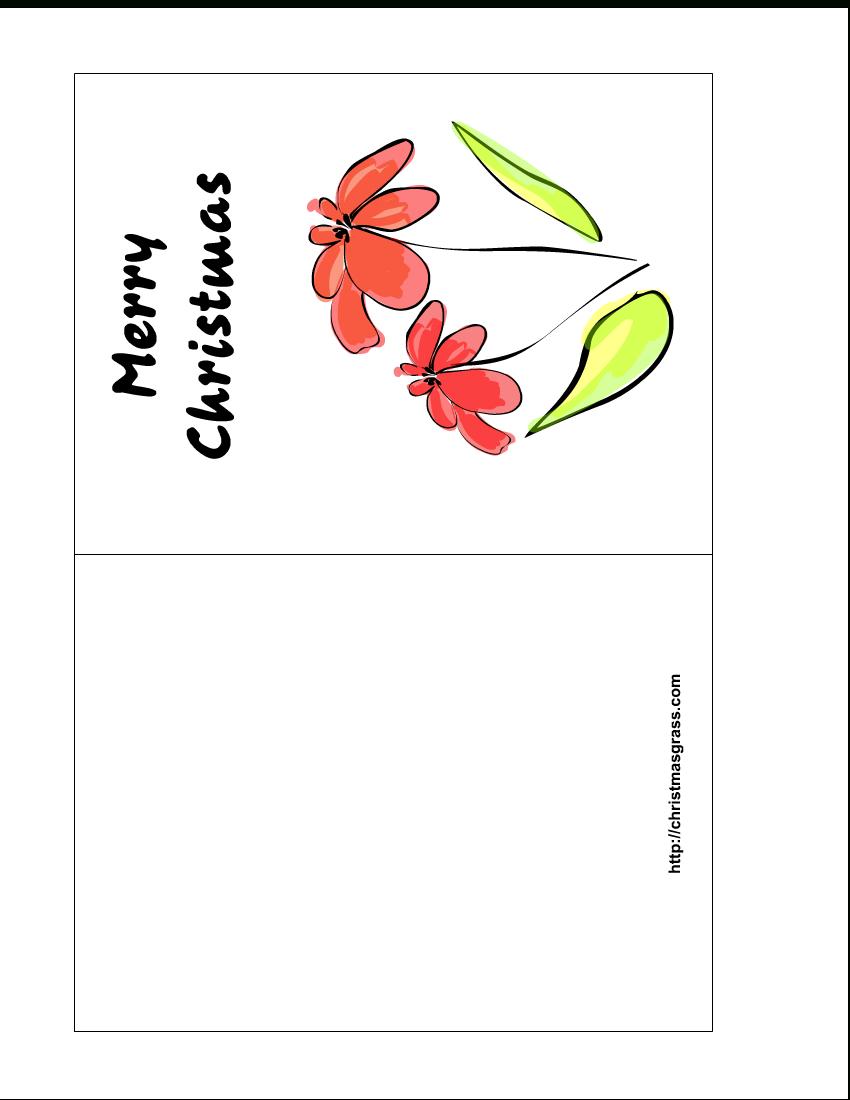 Free Printable Christmas Cards | Free Printable Christmas Greeting - Free Hallmark Christmas Cards Printable
