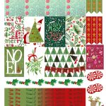 Free Printable Christmas Planners Stickers From Monica Alicia   Free Printable Holiday Stickers