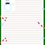 Free Printable Christmas Stationary | Stationary | Christmas 2019   Free Printable Christmas Stationery Paper