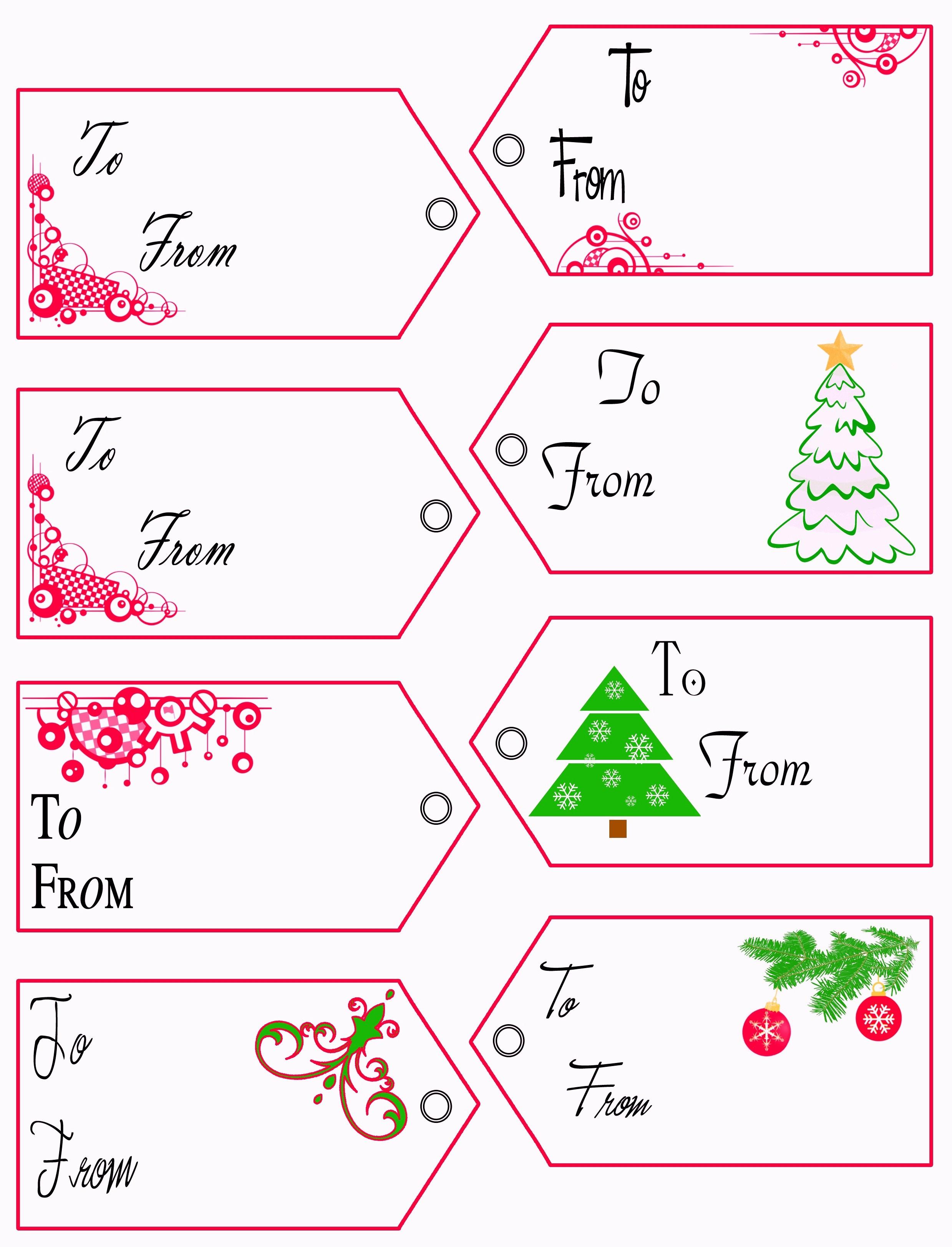 Free Printable Christmas Tags Templates – Pictimilitude - Free Printable Gift Tags Templates