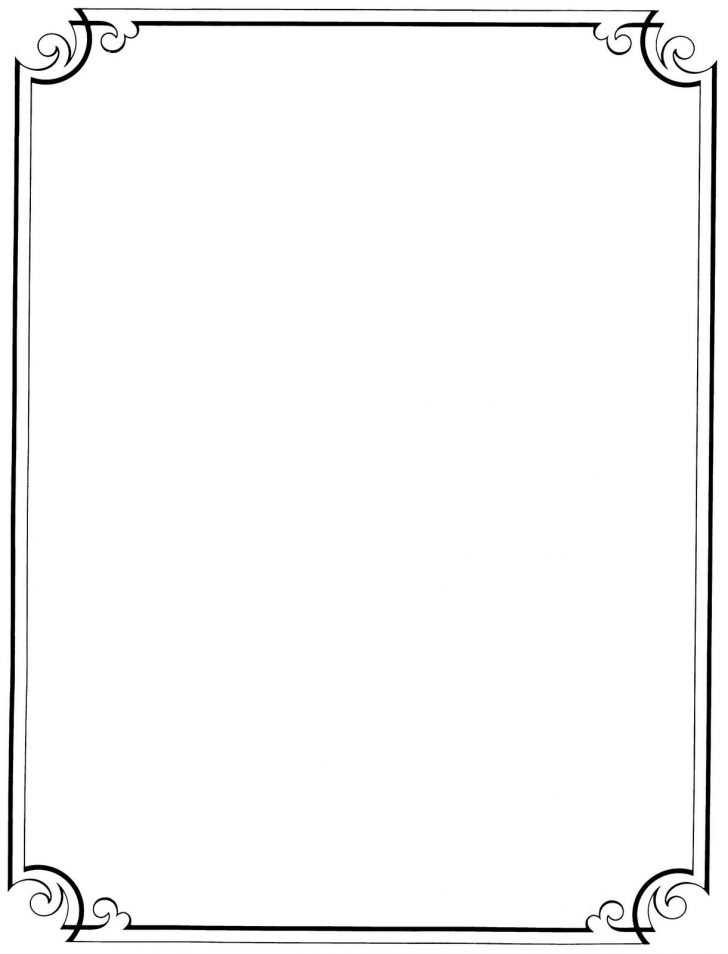 Free Printable Border Paper