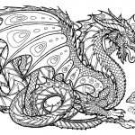 Free Printable Coloring Pages For Adults Advanced Dragons   Google   Free Printable Coloring Pages For Adults Advanced