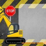 Free Printable Construction Vehicles Birthday Invitation | Free   Free Printable Construction Birthday Invitation Templates