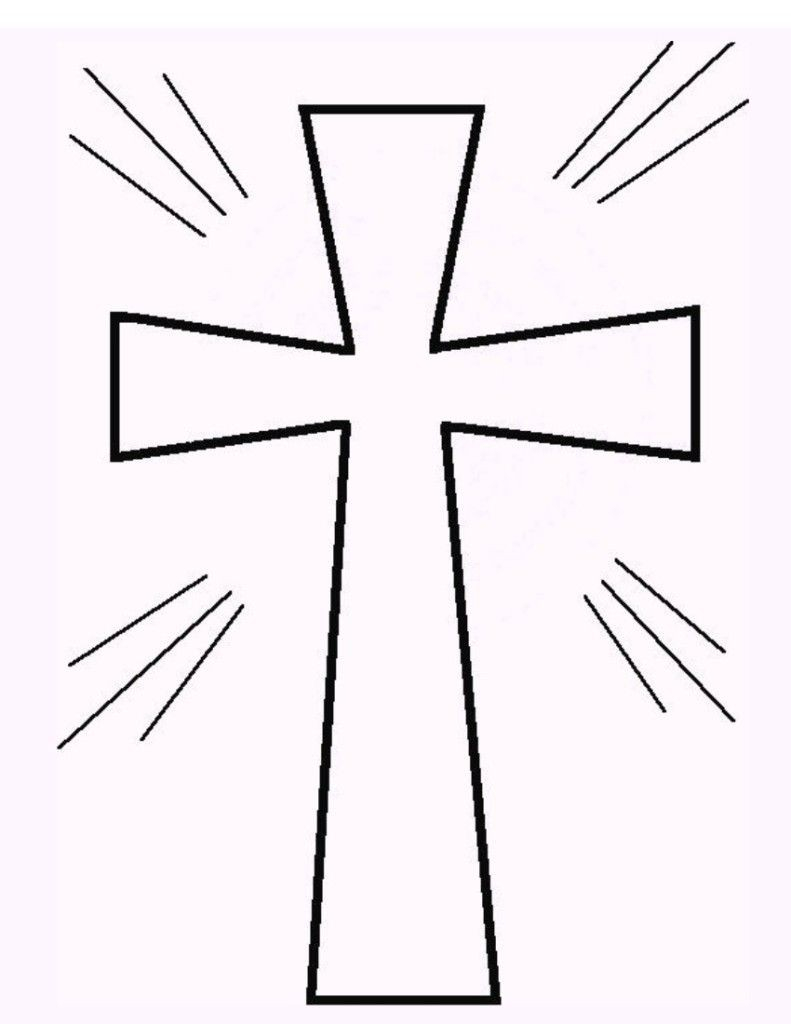 Free Printable Cross Coloring Pages Awesome Free Printable Cross - Free Printable Cross