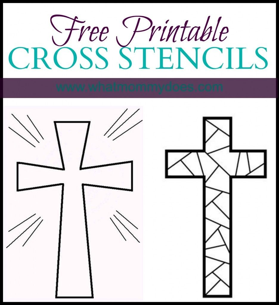 Free Printable Cross Coloring Pages | Cross | Cross Coloring Page - Free Printable Cross