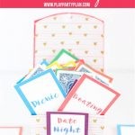 Free Printable Date Night Cards & 150+ Date Night Ideas   Play Party   Free Printable Play Date Cards