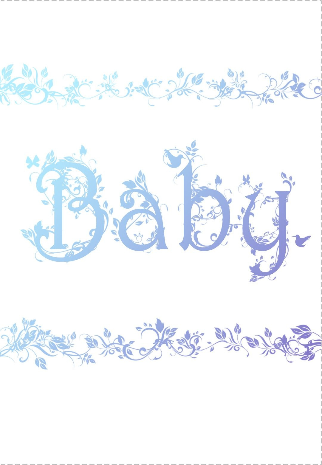 Free Printable Decorated Baby Card Greeting Card | Baby Shower Ideas - Free Printable Baby Cards