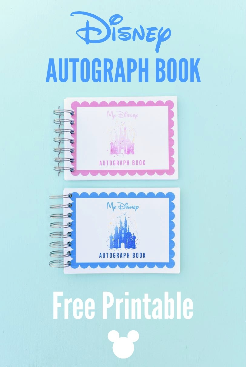 Free Printable Disney Autograph Book - Free Printable Autograph Book For Kids
