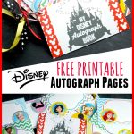 Free Printable Disney Character Autograph Pages (Perfect For   Free Printable Autograph Book For Kids