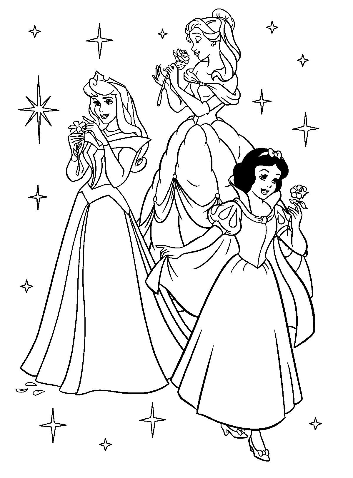 Free Printable Disney Princess Coloring Pages For Kids | Színezők - Free Printable Princess Coloring Pages