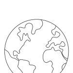 Free Printable Earth Template | Classroom | Earth Day Crafts, Earth   Free Printable Earth Pictures