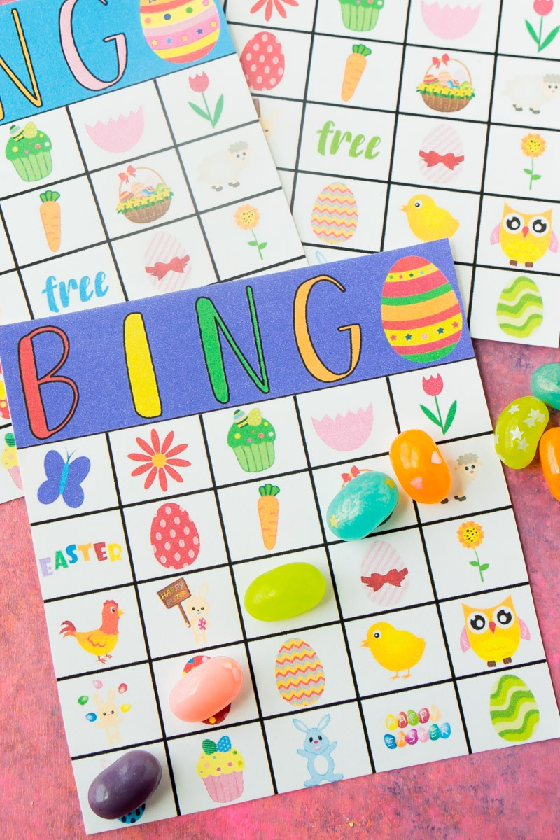 Free Printable Easter Bingo Cards - Play Party Plan - Free Printable Religious Easter Bingo Cards