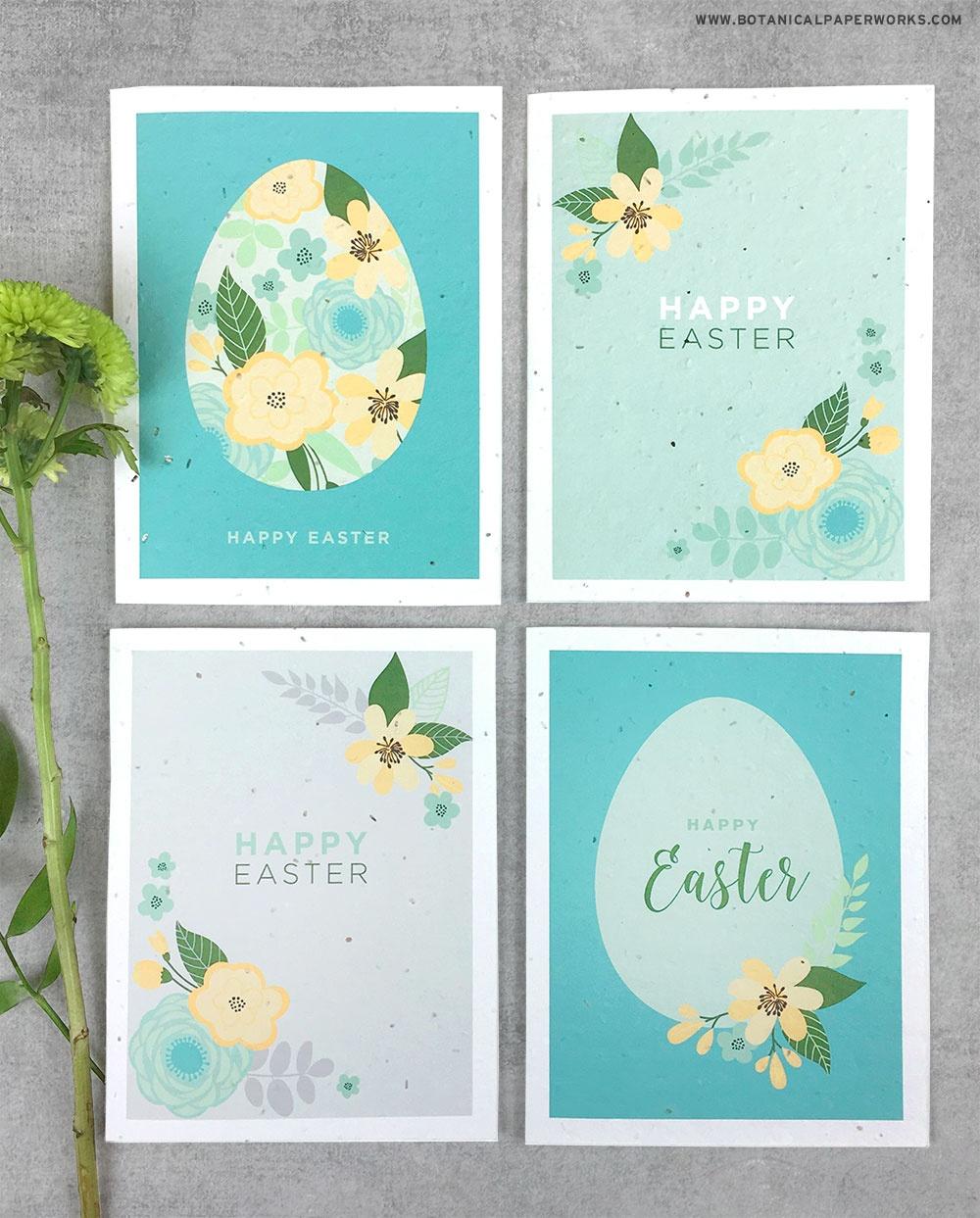 Free Printable} Easter Cards | Blog | Botanical Paperworks - Free Printable Easter Cards To Print