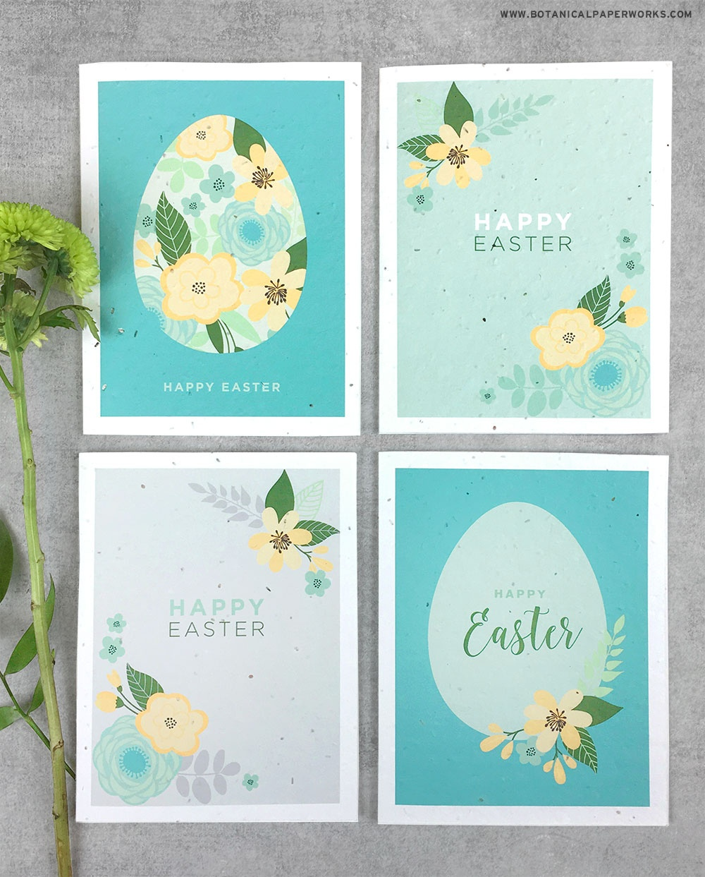 Free Printable} Easter Cards | Blog | Botanical Paperworks - Free Printable Picture Cards