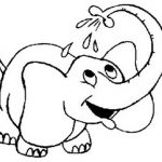 Free Printable Elephant Coloring Pages For Kids #11 Elephant   Free Printable Elephant Pictures