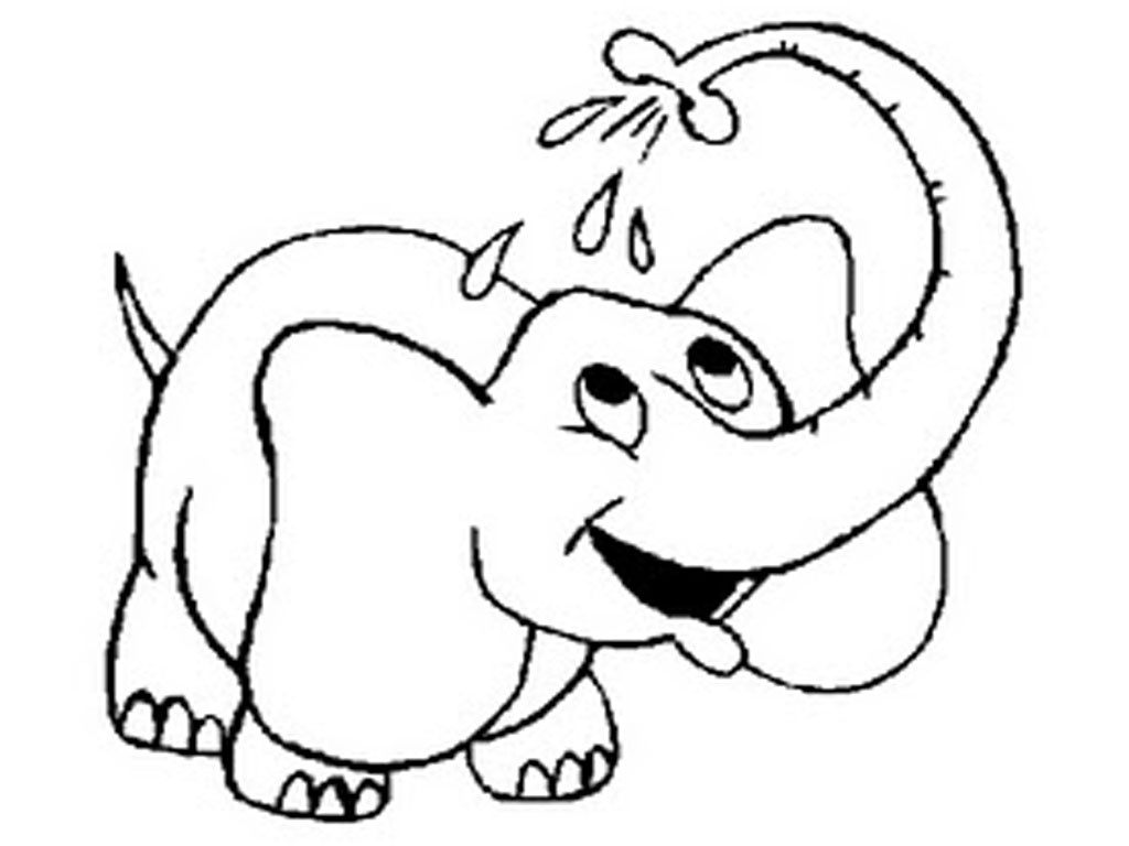 Free Printable Elephant Coloring Pages For Kids #11 Elephant - Free Printable Elephant Pictures