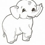 Free Printable Elephant Coloring Pages For Kids | Let's Color   Free Printable Elephant Pictures