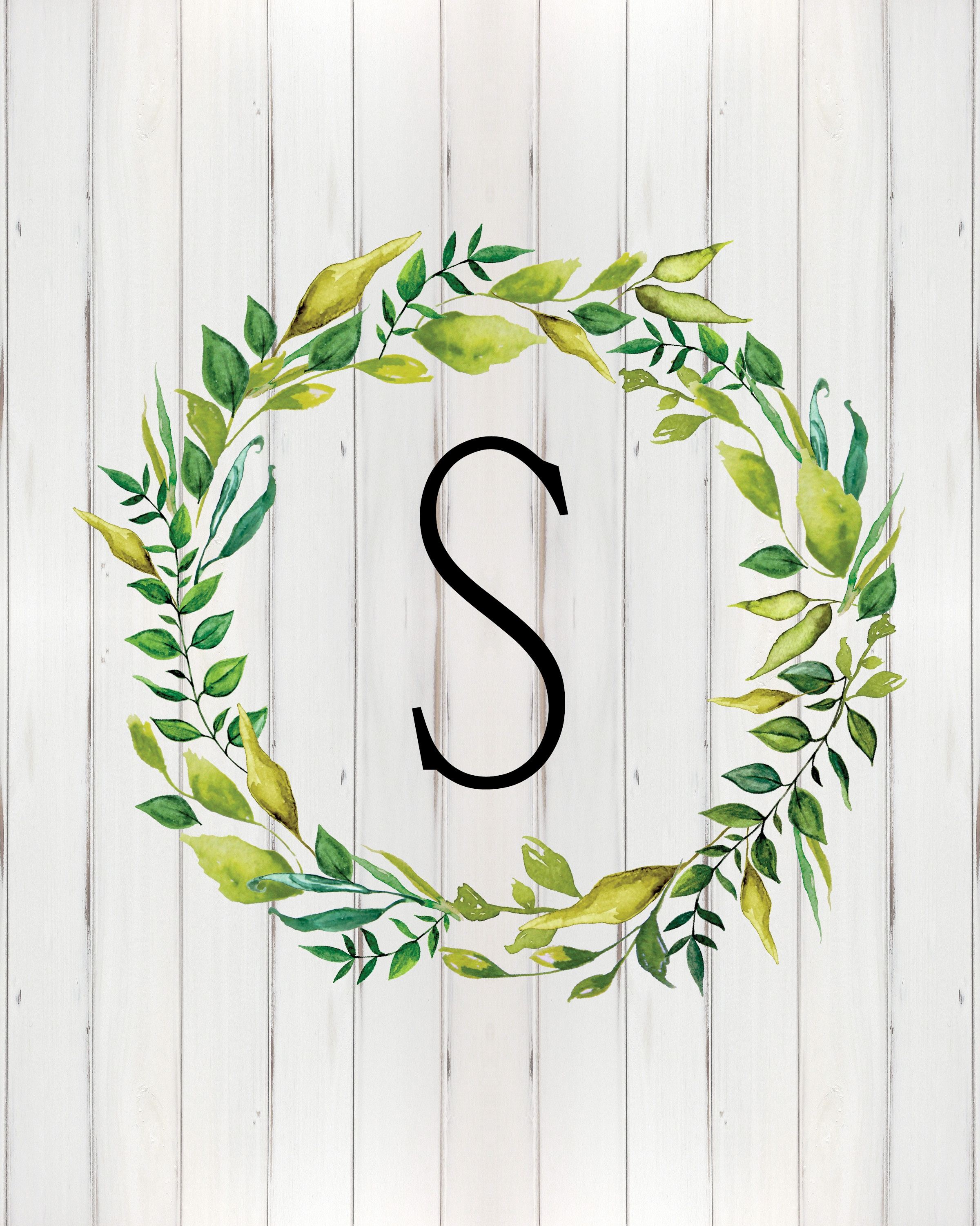 Free Printable Farmhouse Monograms And More - The Cottage Market - Free Printable Monogram