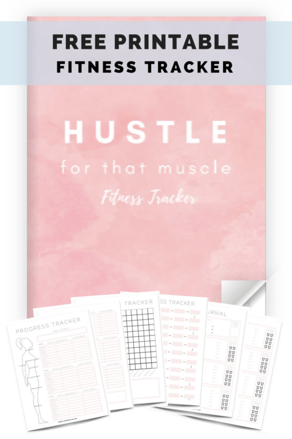 Free Printable Fitness Tracker - Cassie Scroggins - Free Printable Fitness Tracker