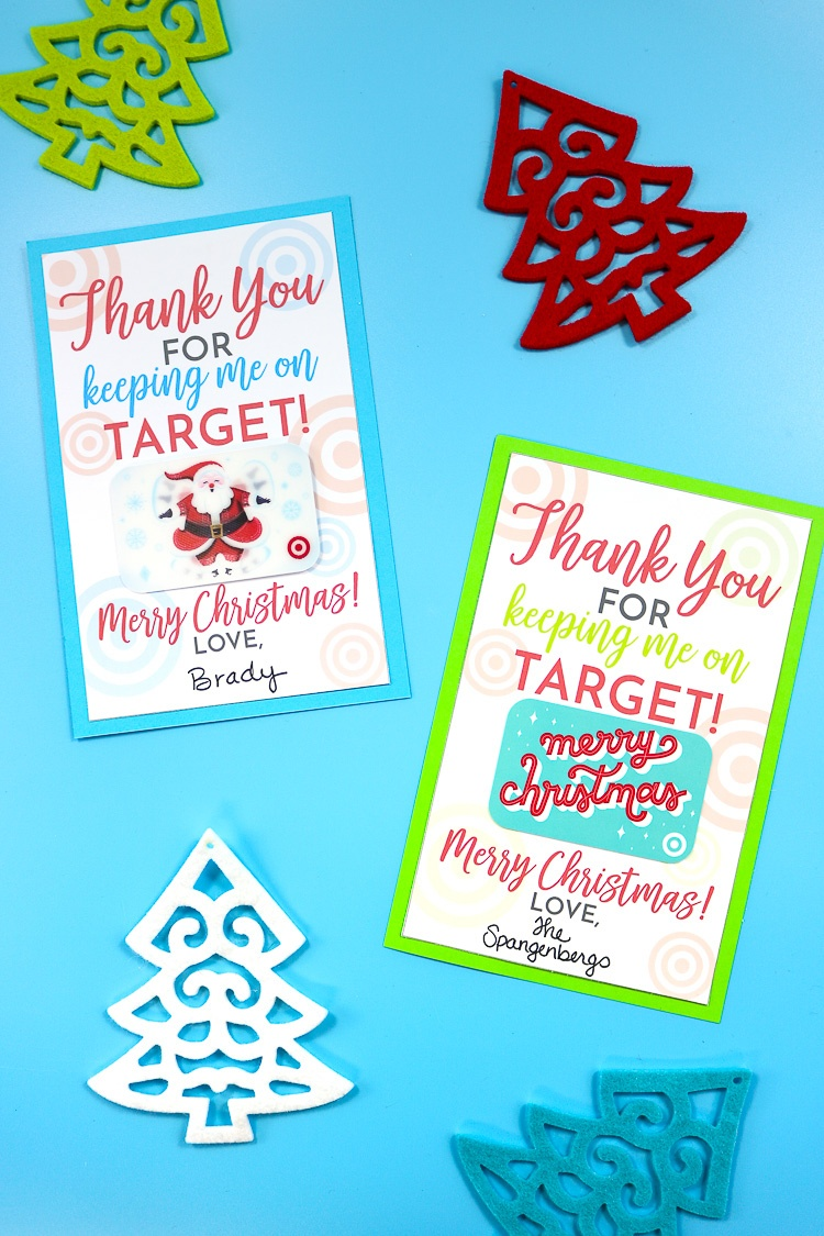 Free Printable For Gifting Target Gift Cards - That's What {Che} Said - Free Printable Christmas Gift Cards