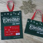 Free Printable  Gift Card Holder Spend Christmas   Free Printable Christmas Money Holders