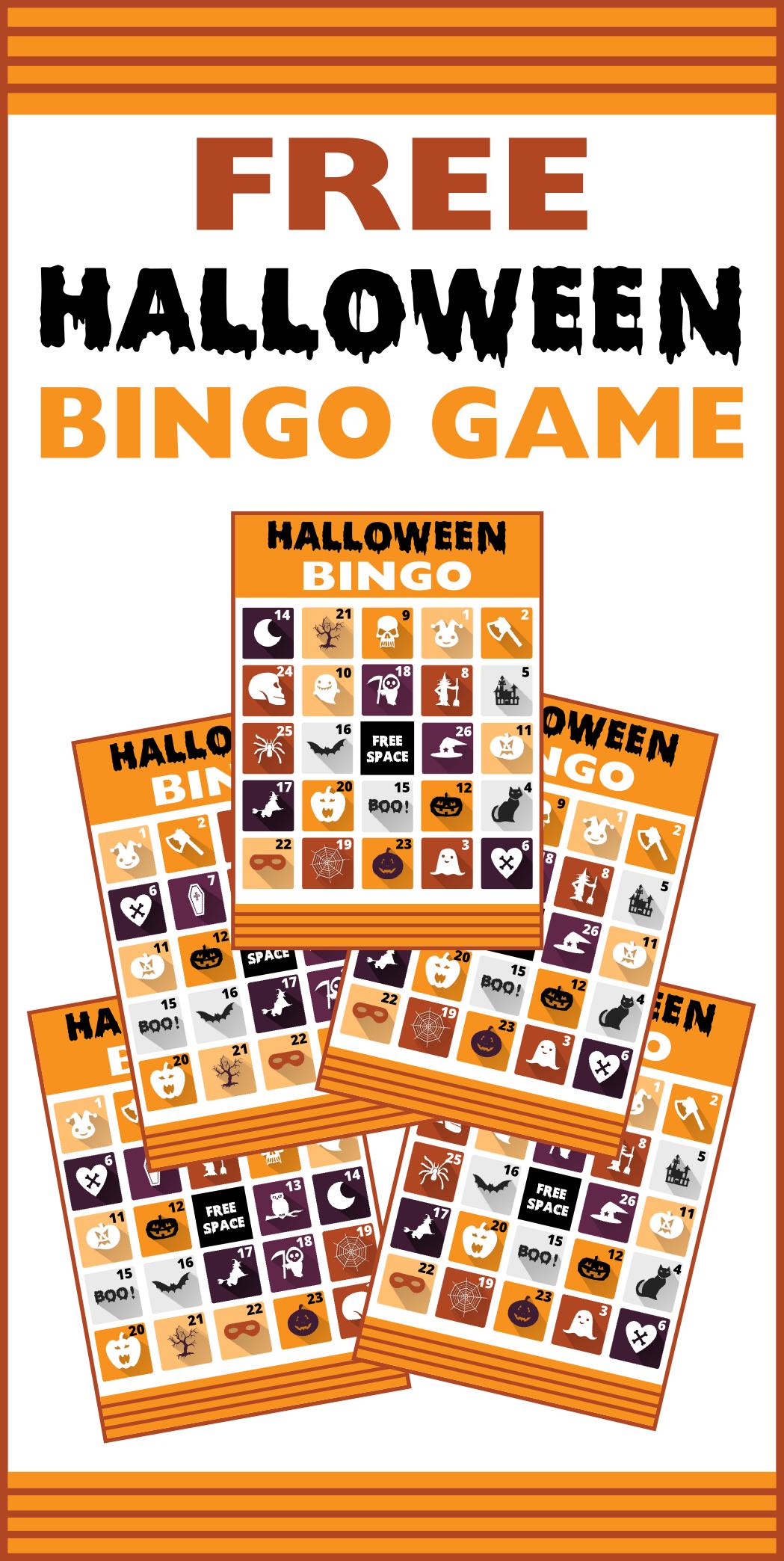 Free Printable Halloween Bingo Cards | Catch My Party - Free Printable Halloween Bingo Cards