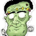 Free Printable Halloween Monster Mask ⋆ Miniature Masterminds   Free Printable Halloween Face Masks