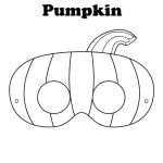 Free Printable Halloween Pumpkin Mask   Ready To Be Colored! | Mops   Free Printable Face Masks