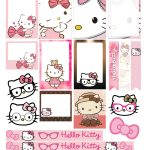 Free Printable Hello Kitty Planner Stickers From Victoria Thatcher   Hello Kitty Name Tags Printable Free