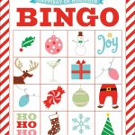Free Printable: Holiday Bingo {Blonde Designs Blog} | Christmas   Free Printable Christmas Bingo
