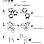 Free Printable Holiday Worksheets | Free Printable Kindergarten   Free Printable Christmas Worksheets For Kids