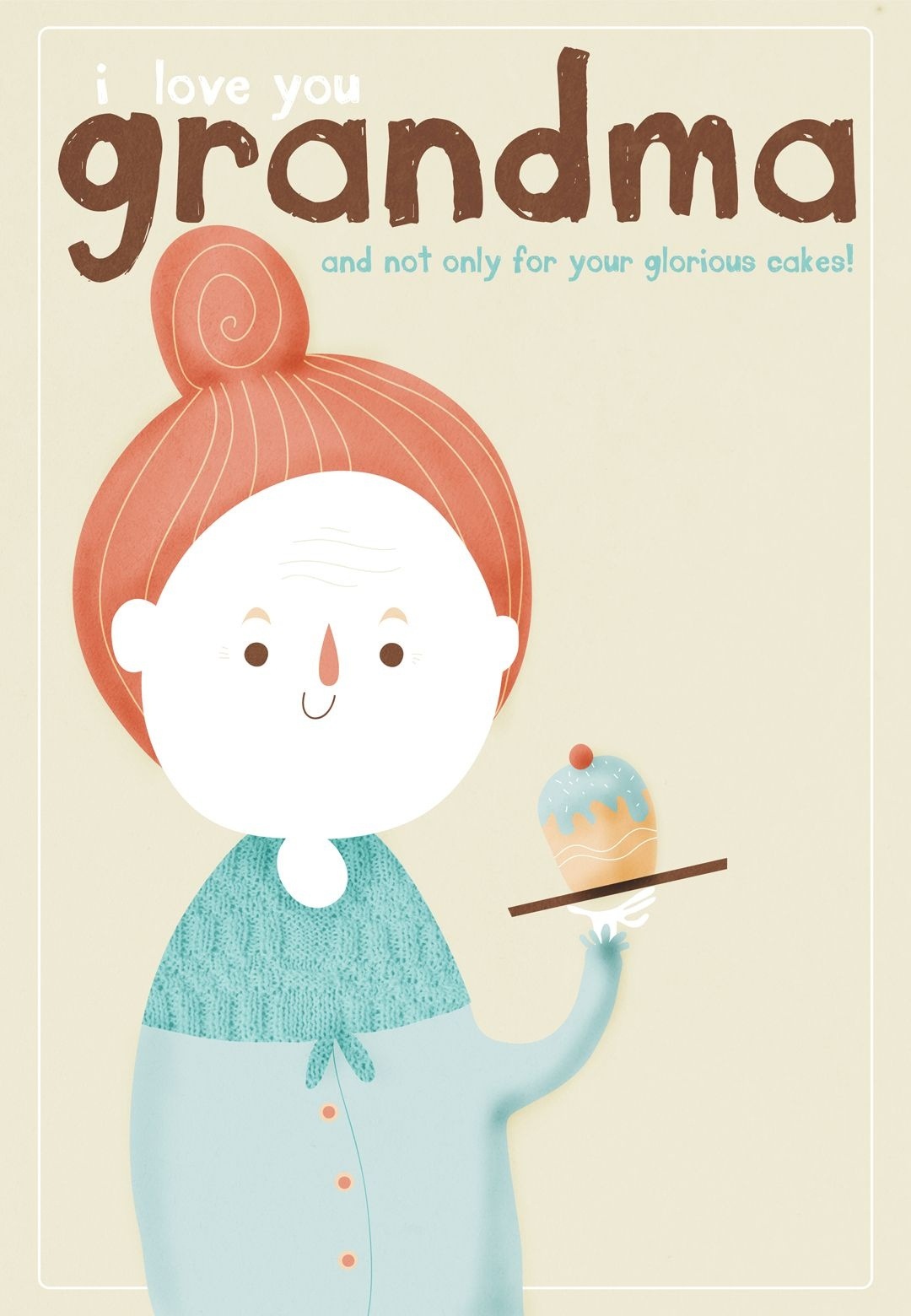 Free Printable I Love You Grandma Greeting Card | Grandparents Day - Grandparents Day Cards Printable Free