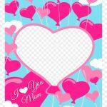 Free Printable I Love You Mom Greeting Card With Add   Mom Greeting   Free Printable Love Greeting Cards