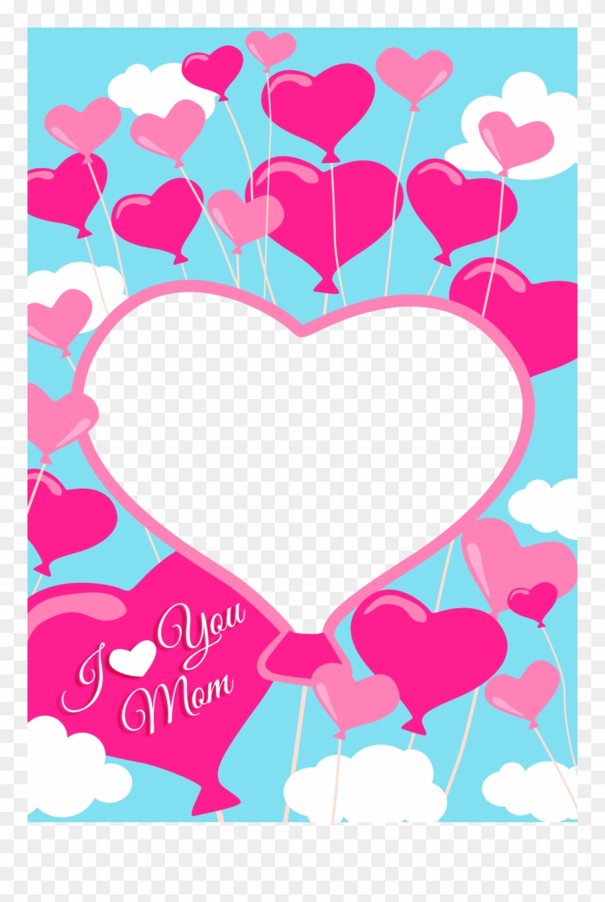 Free Printable I Love You Mom Greeting Card With Add - Mom Greeting - Free Printable Love Greeting Cards