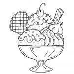 Free Printable Ice Cream Coloring Pages For Kids   Ice Cream Color Pages Printable Free